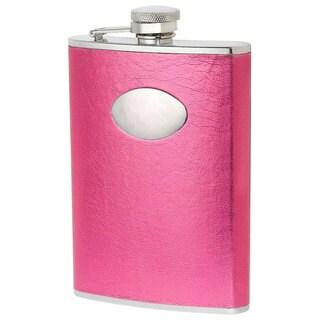 Visol Marilia Hot Pink Liquor Flask - 8 ounces