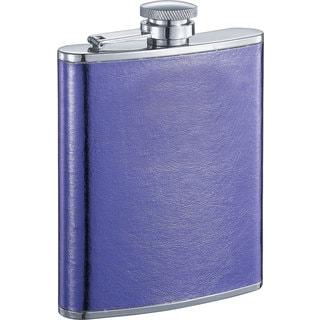 Visol Violet X Satin Purple Liquor Flask - 6 ounces