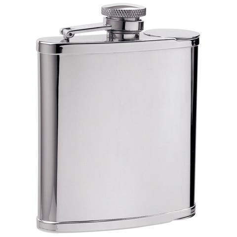 Visol Two Shot Cups in Liquor Flask - 6 ounces