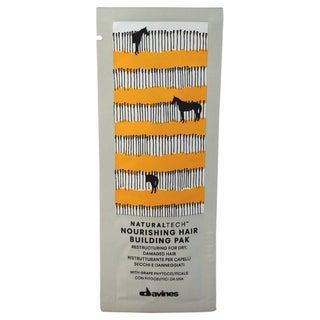 Davines Naturaltech Nourishing Hair Building Pak Sachet Kit