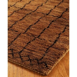 Natural Area Rugs Hand Knotted Mysterio Jute Rug (8' x 10')