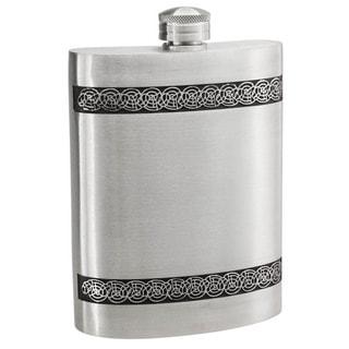 Visol Seville Pewter Liquor Flask - 6 ounces