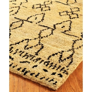 Natural Area Rugs Hand Knotted Moonwalk Jute Rug (9' x 12')