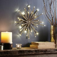 Apothecary & Company 12in LED Champagne Glitter Snowflake