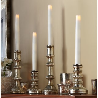 4-piece Flameless LED Taper Candles