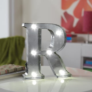 Apothecary & Company 8inch LED Letter R Marquee Sign