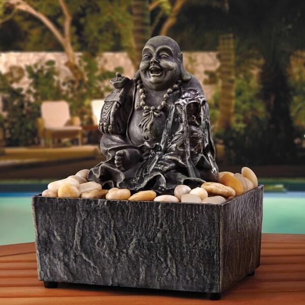 Shop apothecary company lucky buddha fountain free for International home decor llc