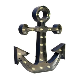 "Apothecary & Company 20"" LED Marquee Sign - Anchor"