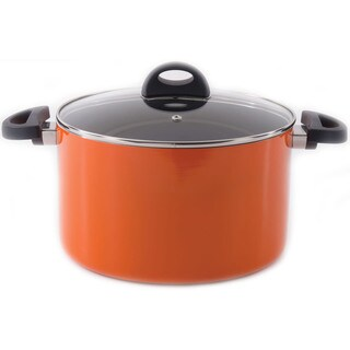Eclipse Covered stockpot 10-inch Orange