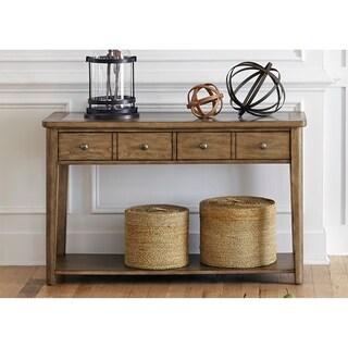 Weatherford Brownstone Caramel Sofa Table