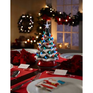 Apothecary & Company Vintage Ceramic LED Tree