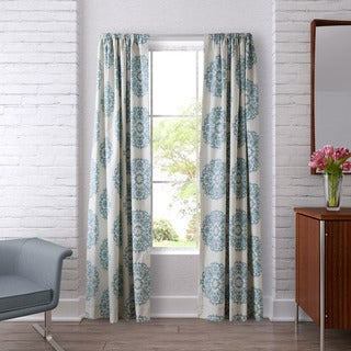 Stone Cottage Bristol Lined Curtain Panel Pair - 54 x 84