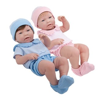 JC Toys Lifelike Real Twin Baby Dolls