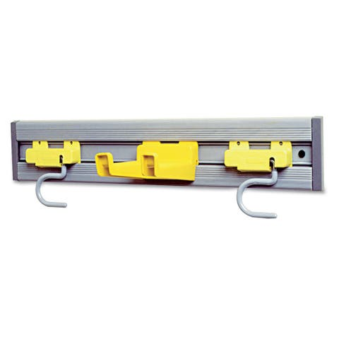 Rubbermaid Commercial Gray Closet Organizer/Tool Holder