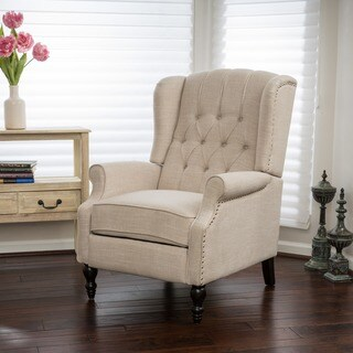 Christopher Knight Home Walter Fabric Recliner Club Chair