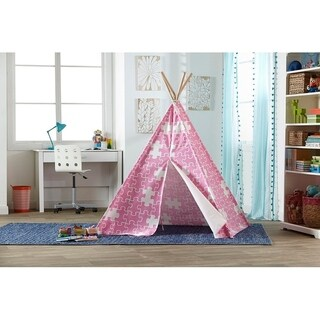 Merry Products Children's Teepee Pink Puzzle