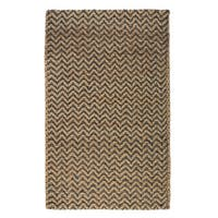 Kosas Home Handspun Harrington Jute Charcoal Rug (2'x3')