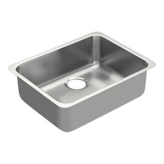 Moen 18-inch x 23-inch Stainless Steel 18 Gauge Single Bowl Sink