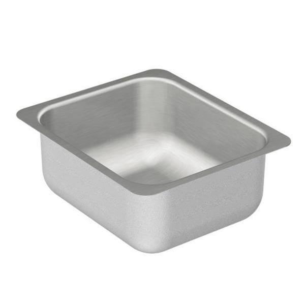 Shop Moen 12 Inch X 14 Inch Stainless Steel 20 Gauge Single Bowl