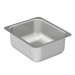 Moen 12-inch x 14-inch Stainless Steel 20 Gauge Single Bowl Sink