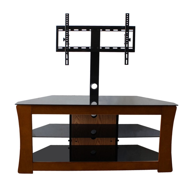 Shop Avista Visto Espresso Tv Stand With Rear Swivel Mount For Up To