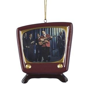 Kurt Adler 3 Inch Porcelain Elvis Presley TV Ornament