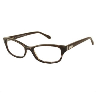 Kate Spade Women's Adina Plum Tortoise Rectangular Optical Frames