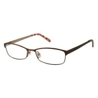 Kate Spade Women's Alfreda Brown Rectangular Optical Frames