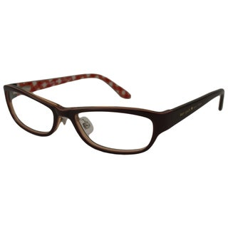 Kate Spade Women's Janene Brown Rectangular Optical Frames