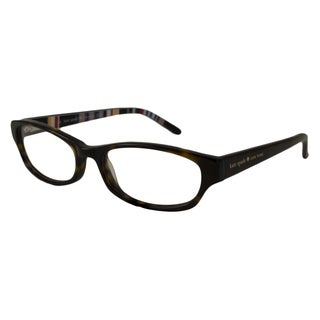 Kate Spade Women's Twyla Rectangular Tortoise Optical Frames