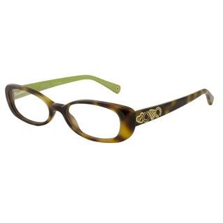Coach Women's HC6016 Saige Rectangular Reading Glasses
