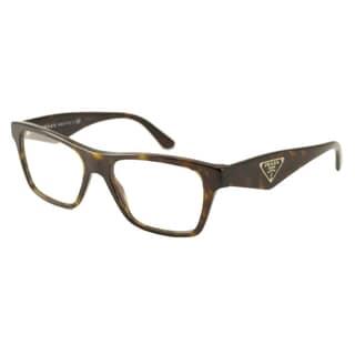 Prada Women's PR20QV Rectangular Reading Glasses