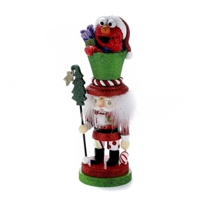 Kurt Adler 12-Inch Elmo Hollywood Nutcracker
