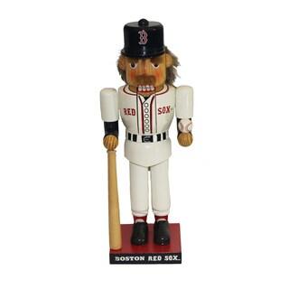 Kurt Adler 14 in. Red Sox Baseball Player Nutcracker