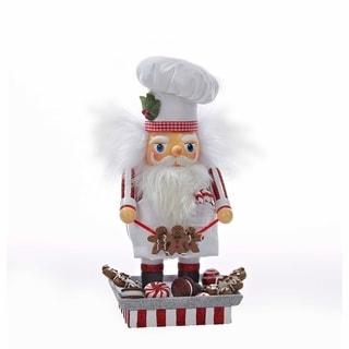 Kurt Adler 12 in. Hollywood Santa Gingerbread Chef Nutcracker