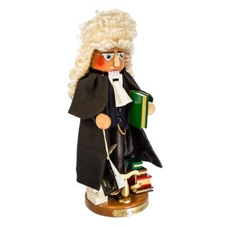 Kurt Adler 17 in. Steinbach Barrister Nutcracker