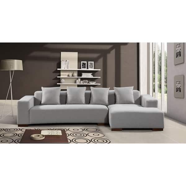 Shop Modern Fabric Sectional Sofa - LYON - Free Shipping ...