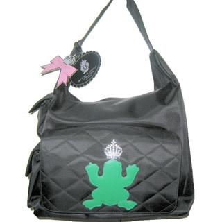 My Flat In London Green Bee Diaper Bag