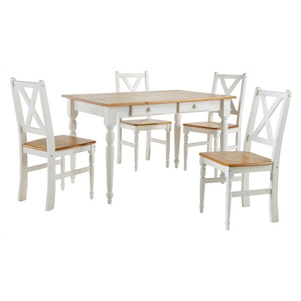 scandinavian lifestyle noah dining table with drawers 17665920