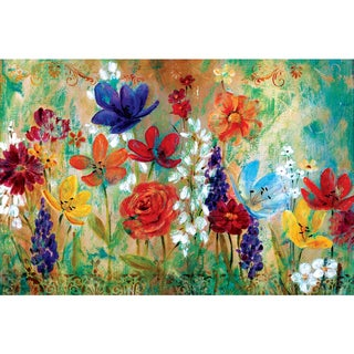 Portfolio Canvas Decor 'Wildflower Fresco I' by E. Franklin Gallery Wrapped Canvas