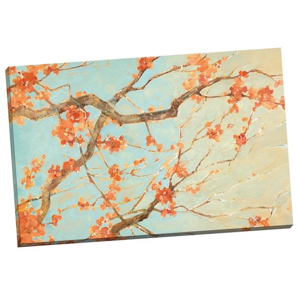 Portfolio Canvas Decor  'Blossom Song I' by Elinor Luna Gallery Wrapped Canvas