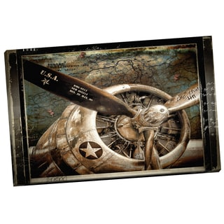 Portfolio Canvas Decor 'Wing and a Prayer' by Mindy Sommers Gallery Wrapped Canvas