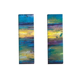Portfolio Canvas Decor 'Transference Panel I' by Charles Culver Gallery Wrapped Canvas (Set of 2)