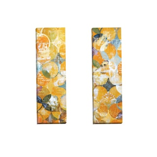 Portfolio Canvas Decor 'Radiant Day Panel I' by Frank Parson Gallery Wrapped Canvas (Set of 2)