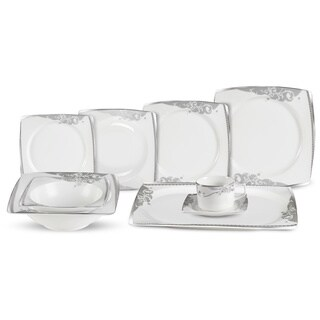 30-piece Bell Bone China Dinnerware Set (Service for 4)