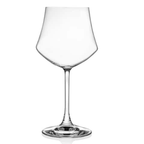 Lorren Home Trends Ego Collection Red Wine Stemmed Goblet (Set of 6)