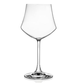 Lorren Home Trends Ego Collection Red Wine Stemmed Goblet (Set of 6)