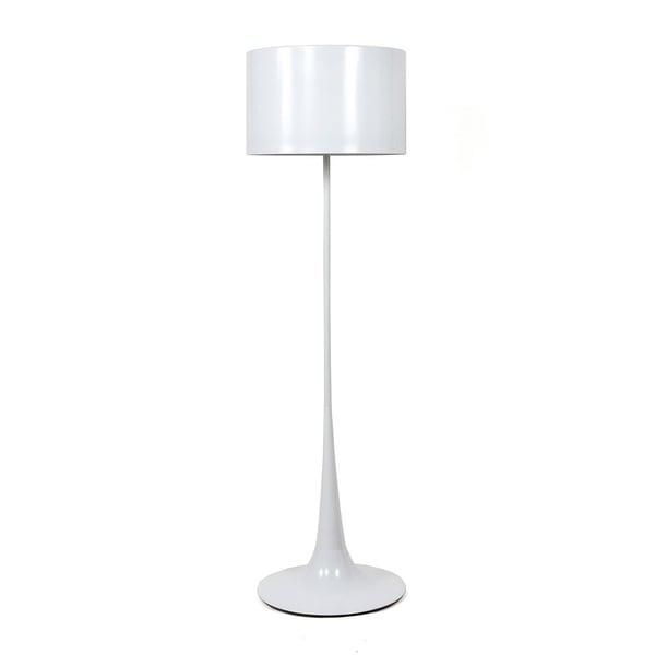 Hans Andersen Home Tulip Style Floor Lamp White