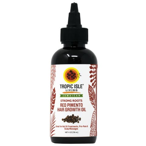 Tropic Isle Living Strong Roots Red Pimento 4-ounce Hair Growth Oil