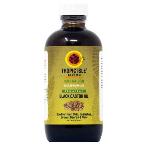 Tropic Isle Living Jamaican 4-ounce Black Castor Oil